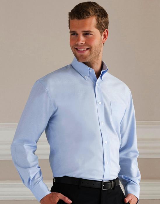 35162a525e2 DoRachoty.cz - Pánská košile s dlouhým rukávem Oxford Russell europe