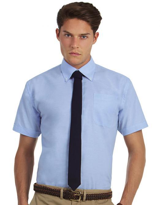 2c6083ee191 DoRachoty.cz - Pánská košile s krátkým rukávem Oxford B C