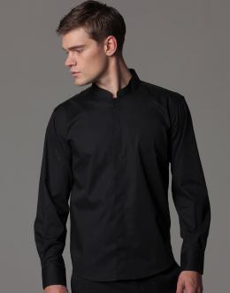 27ca1f56cee ... Pánská košile se stojáčkem a dlouhým rukávem Bargear ...